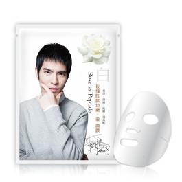 玫瑰胜肽幼嫩‧金 面膜(白)